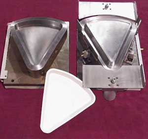 Pizza Shape forming dies for thermoforming