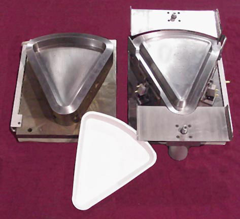 pizza shaped forming dies by Gralex