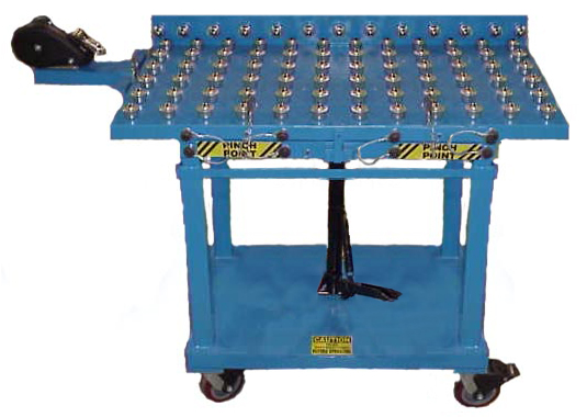 Blue Gralex Die Cart
